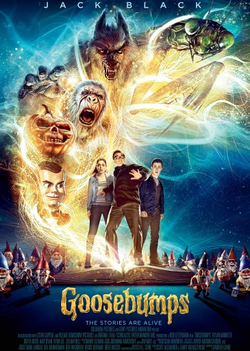 Goosebumps Anatrichiles Greek poster Technopolis Multiplex Cinema Heraklion Crete Movie